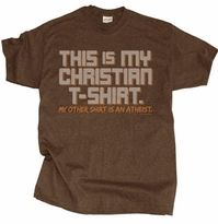 This is My Christian T-Shirt by Gardenfire