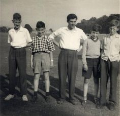 The boy second from the left is my ideal outfit for Lewis