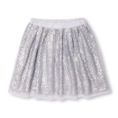 cc0962ff8ccfe0 Girls Sequin Skirt - Blue - The Children s Place Girl Bottoms