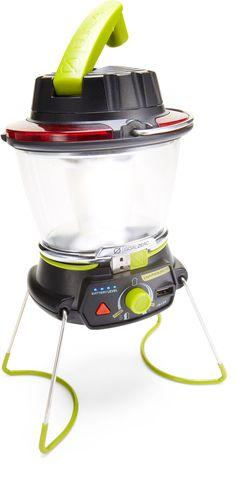 Goal Zero Lighthouse 250 LED Lantern (charge from solar power panel, sold separately!)