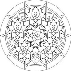 Free Printable Mandala Coloring Pages For Adults - Bing images