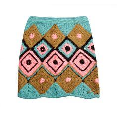 Mini Skirt jacquard Swiss Art 1526 — Agostina Bianchi