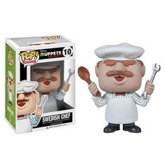 Muppets Most Wanted POP Swedish Chef Vinyl Figure