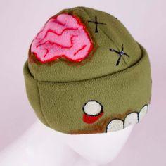 zombie hat, ftw!