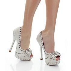 Star studded peep toe  $120.00