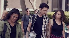 "Ben from Asking Alexandria and Andy Biersack from Black Veil Brides in a movie together called ""American Satan"""