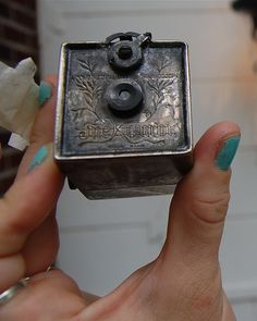 Kombi Camera, from 1892. It's so Tiny! by Stacie Stacie Stacie, via Flickr.