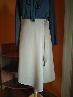 ivettetextil / Sukňa viazacia Waist Skirt, High Waisted Skirt, Skirts, Fashion, Moda, High Waist Skirt, Fashion Styles, Skirt