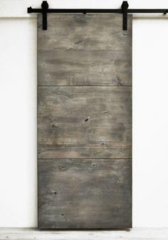 Barn Door Modern Slab - Silverwood