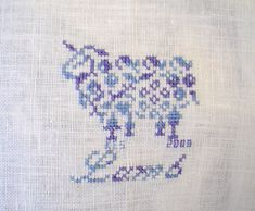 Little Lamb Cross-stitch by Princes Milady, via Flickr