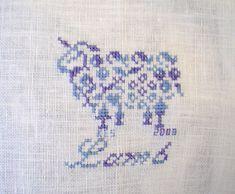 Little Lamb Cross-stitch by Princes Milady, via Flickr
