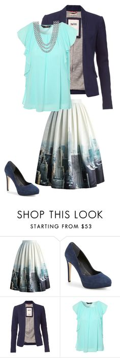 """""""NYC"""" by lizardbeth95 ❤ liked on Polyvore featuring Chicwish, Charles by Charles David, Tommy Hilfiger, Jane Norman and Henri Bendel"""