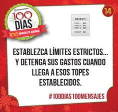 Día #14: Presupuesto #100dias100mensajes #finanzaslatinos