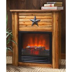 Classic Flame 28WM0913-S118 Grand Canyon Stacked Stone Electric ...