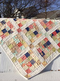 Custom Childs Quilt for Boy or Girl by PeaceofMeQuilts on Etsy, $85.00