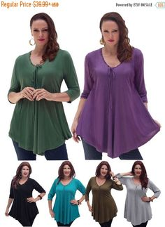 30% OFF XMAS SALE R143 Shirt Blouse Top A by LotusTradersClothing https://www.etsy.com/shop/LotusTradersClothing #plussize #fashion #love #woman #family #curvy #4X #3X #lotustraders