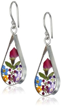 Looking for Sterling Silver Pressed Flower Teardrop Earrings ? Check out our picks for the Sterling Silver Pressed Flower Teardrop Earrings from the popular stores - all in one. Dangly Earrings, Teardrop Earrings, Flower Earrings, Cheap Earrings, Blue Earrings, Unique Earrings, Anne Klein, Nine West, Givenchy
