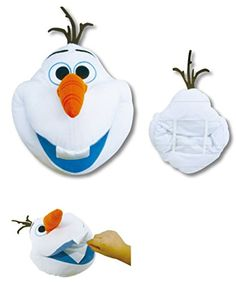"Disney Frozen Jumbo Olaf Soft Plush Tissue Box Cover . 13"" Tall. Japan Import. Disney http://www.amazon.com/dp/B00RW5Q3IY/ref=cm_sw_r_pi_dp_lwnGvb0CR7ZDF"