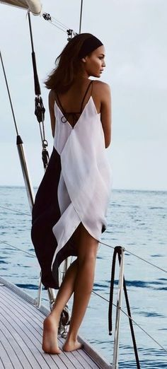 #summer #style / black and white