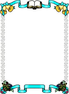 Fall Wedding Clipart Border Design 2014 sadiakomal