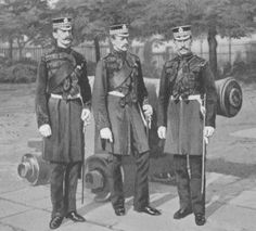 An Inspection Group of the Officers of the 1st Scots Guards (1896)