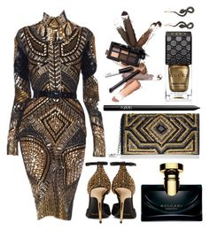 BACK IN ACTION by nikkifresh72 on Polyvore featuring polyvore fashion style Stuart Weitzman Burberry Socheec NARS Cosmetics Bulgari Gucci Julien Macdonald