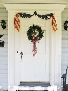 Patriotic door.....
