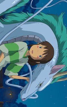 Spirited Away Fond d'écran Studio Ghibli Films, Art Studio Ghibli, Studio Ghibli Characters, Totoro, Animes Wallpapers, Cute Wallpapers, Studio Ghibli Background, Chihiro Y Haku, Japon Illustration