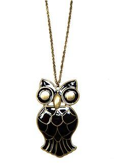 OWL NECKLACE EUR5.99  REF. 63637049 - SANDIA C