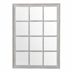 Pembridge 12 Pane Mirror - White