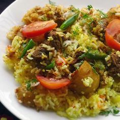 Lamb or Chicken Biryani...Will try to make this for the hubs.
