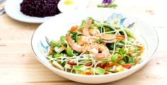 Healthy Thai Prawn Noodle Salad Recipe – Kayla Itsines