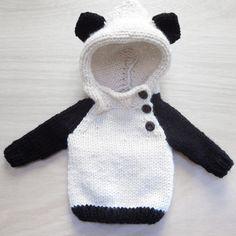 panda sweater by Camp & Company Knittery
