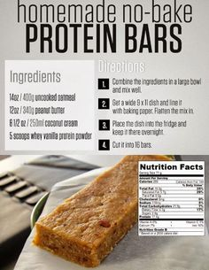 I made these and they tasted GREAT!  For more homemade recipes check this out>http://www.insearch4success.com/homemade-protein-recipes/