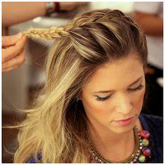 Blog da Guê Gouveia: Trança no penteado!!!