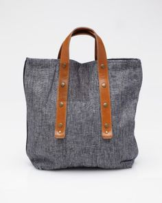 Delmare Shopping Tote / Fabric & Handle