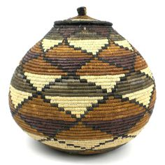 Zulu Wedding Basket - 080 - Ilala Weavers