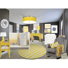 Find This Pin And More On Nursery Ideas Gray Yellow Pictures