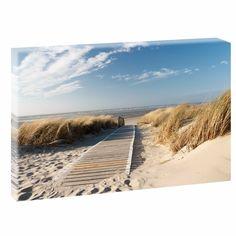 Bild Poster Leinwand Strand/&Meer Nordsee Langeoog 301 Wandbild ca 150 cm* 80 cm