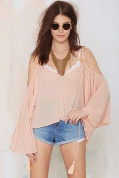 Ticket to Ride Peasant Blouse - Shirts + Blouses | Clothes | All | Off The Shoulder