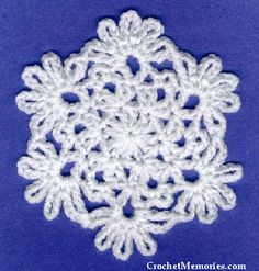 Christmas Snowflake Coaster - Work up a set of beautiful snowflake coasters for your home this Christmas. They're functional, decorative, and pretty. If coasters aren't your thing, use thread for beautiful snowflake ornaments!
