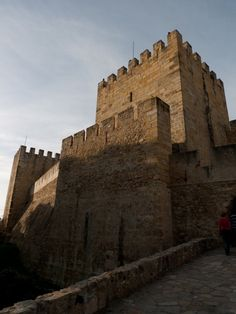 Sao Jorge Castle, Top Places to See in Lisbon, Portugal