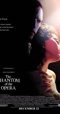 The Phantom of the Opera (2004)~Seal my fate tonight. I hate to have to cut the fun short, but the joke's wearing thin. Let the audience in. Let my opera BEGIN!