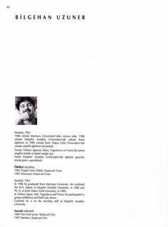 Modern Türk Seramik Sergisi, 1992 Bilgehan Uzuner (Erdinç Bakla archive)