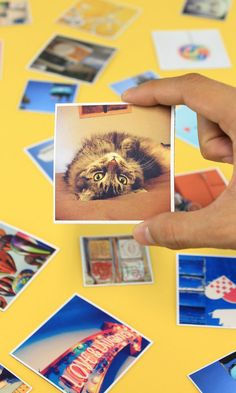 These cute magnets can be printed with photos from your Instagram, camera-roll or desktop. A nice idea to stick your memories around! And they do free delivery worldwide.