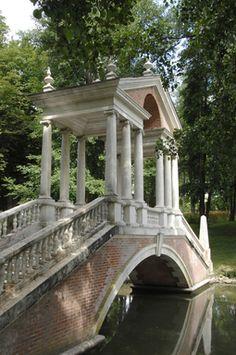 Parc du château de Groussay ; demeure d'inspiration italienne - Montfort-L'Amaury (Yvelines)