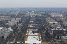 Trump has accused the media of manipulating photographs in order to show the size of the crowd at his inauguration was much smaller than Obama's. Photos released Monday by the National Park Service show otherwise.