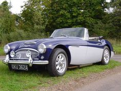 Austin Healey 3000 For Hire from The Open Road Warwickshire (1963) (picture 1 of 6)