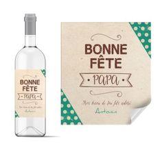 etiquette de vin motifs et photo