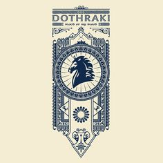 """Dothraki"" design by Olipop"